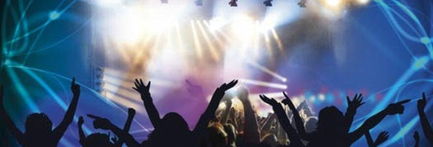 Une foule lors d'un concert en festival