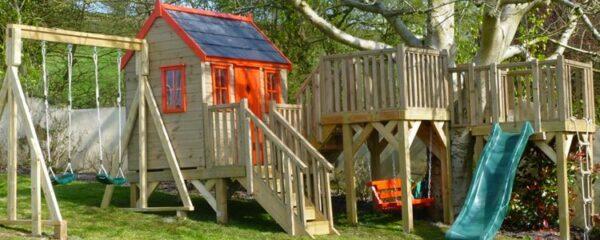 installer une balançoire ou une portique dans le jardin